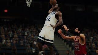 NBA 2K18 Roster Karl-Anthony Towns,Jimmy Butler & Andrew Wiggins vs Bulls