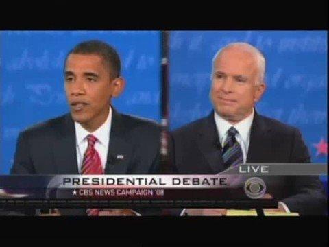 presidential debate highlights 2008 mcCain vs obama