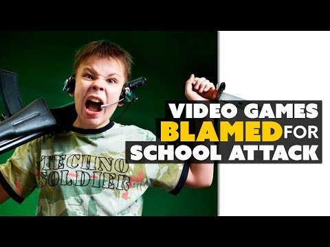 Video Games Blamed for School Attack - The Know Game News