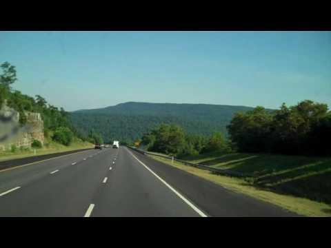 Decending Monteagle Tennessee I 24 Eb Youtube