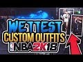 WETTEST CUSTOM OUTFITS + SHOES IN NBA 2K18!!💦 BAPE AND SUPREME! CLEANEST IN THE PLAYGROUND! mp3