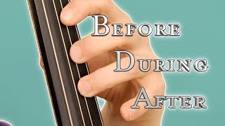 How to Play Cello without Squeaking : Left Hand Tips Part 01   Basics of Cello