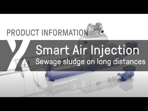 Smart Air Injection - sewage sludge on long distances