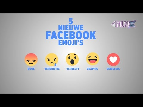 Nieuwe Facebook emoticons / emoji's