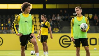Witsel & Hazard are back!   BVB's Public Training Session