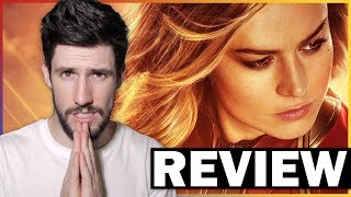 CAPTAIN MARVEL Isn't The Best Version Of Itself - Review (No Spoilers)