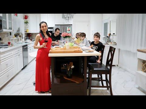 Наш Ужин - Фасоль со Шпинатом - Омлет из Помидоров - Рецепт от Эгине - Heghineh Cooking Show