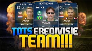 FIFA 15 | TOTS EREDIVISIE TEAM!! | WAT EEN GOOAALSS!!