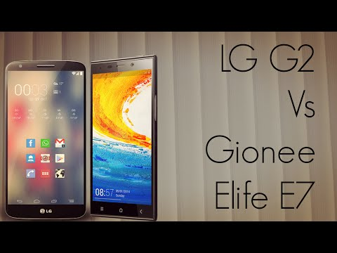 LG G2 Vs Gionee Elife E7 Smart Phone Comparison - PhoneRadar