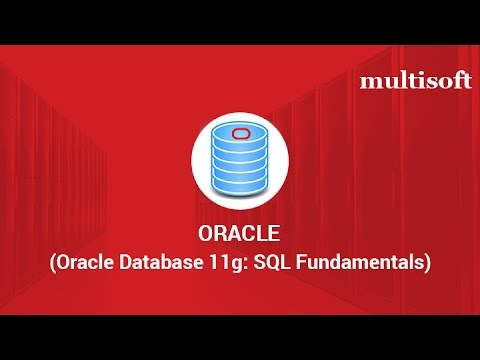 oracle 11g sql fundamentals online certification training ...