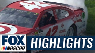 2017 Fontana Highlights (3.26.17) | FOX NASCAR