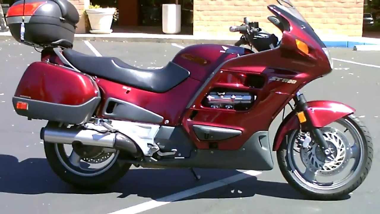 Honda ST 1100 Pan European Carburettor cleaning - YouTube