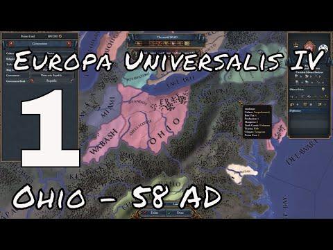 OHIO IS BORN - Europa Universalis IV - Extended Timeline Mod - OHIO #1