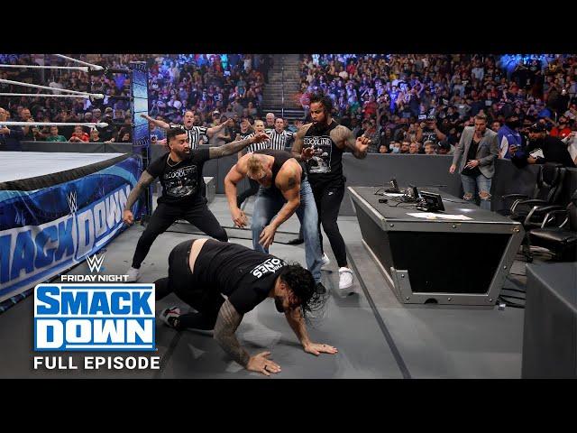 WWE SmackDown Full Episode, 22 October 2021