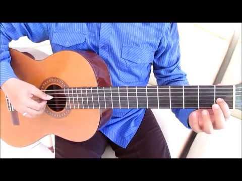 Belajar Kunci Gitar Ungu Asmara Terindah Intro Cara 2