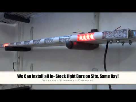 Tow truck light bars in stock at crawford truck sales youtube aloadofball Gallery