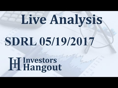 SDRL Stock Live Analysis 05-19-2017