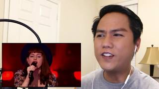 Jennie Lena sings 'Who's Loving You' | Blind Audition | The voice of Holland 2015 REACTION