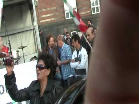 Iranian demonstration in Denmark , Copenhagen ,June ,16, 2009