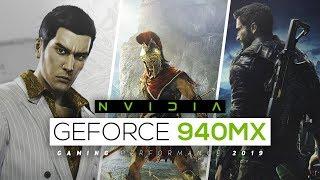 nVIDIA Geforce 940MX Gaming Performance!