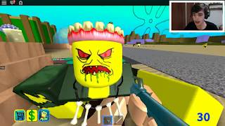 TERROR IN the BIKINI SLIT at ROBLOX! (CreepyPasta SpongeBob)