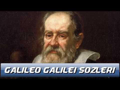 Galileo Galilei Unutulmaz Sozu