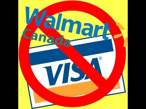 Walmart getting rid of VISA Payment method WTF !!