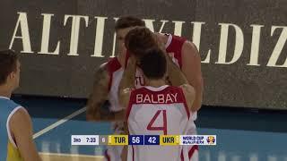 2019 FIBA Dünya Şampiyonası Avrupa Elemeleri Türkiye - Ukrayna Maç Özeti