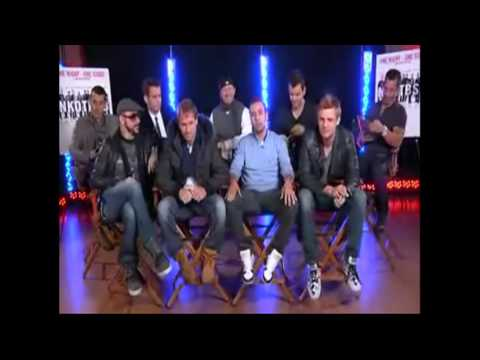 NKOTBSB - Backstreet Boys - New Kids on the Block - UStream chat