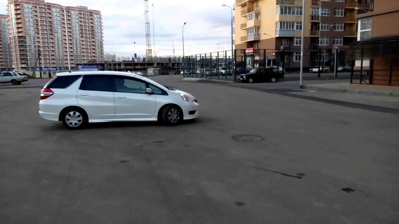Honda Fit Shuttle 2011 , Krasnodar - YouTube