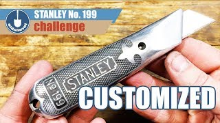 Customizing a Stanley No. 199 Utility Knife and Thrifted Sheath - STANLEY 199 Challenge