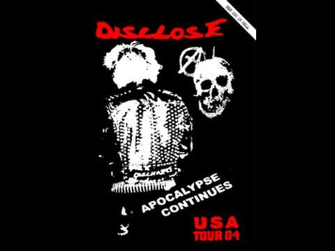 DISCLOSE/WEST COAST CHAINSAW TOUR/OCTOBER 2004/D-BEAT