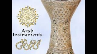 Solo darbuka / doumbek 18 - Gawharet El Fan Darbuka - belly dance -  ArabInstruments.com - طبلة