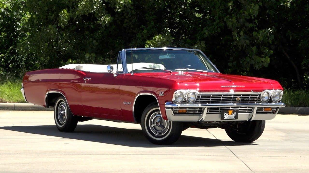 136204 1965 Chevrolet Impala Ss Youtube 1966 Chevy Suspension
