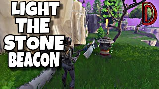 LIGHT THE STONE BEACONS | LIGHT THE WAY | FORTNITE SAVE THE WORLD
