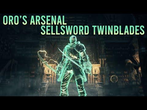 Dark Souls 3 - Oro's Arsenal (Sellsword Twinblades)