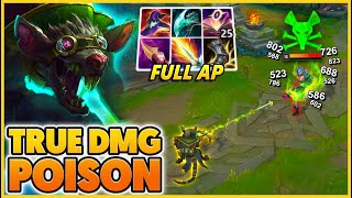 AP Twitch Is Way Better Than AD Twitch (TRUE DMG POISION) - BunnyFuFuu | League Of Legends