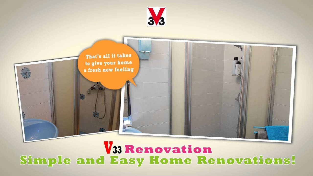 v33 renovation walls - youtube