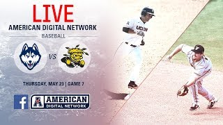 2019 American Baseball Championship: No. 4 UConn vs. No. 8 Wichita State