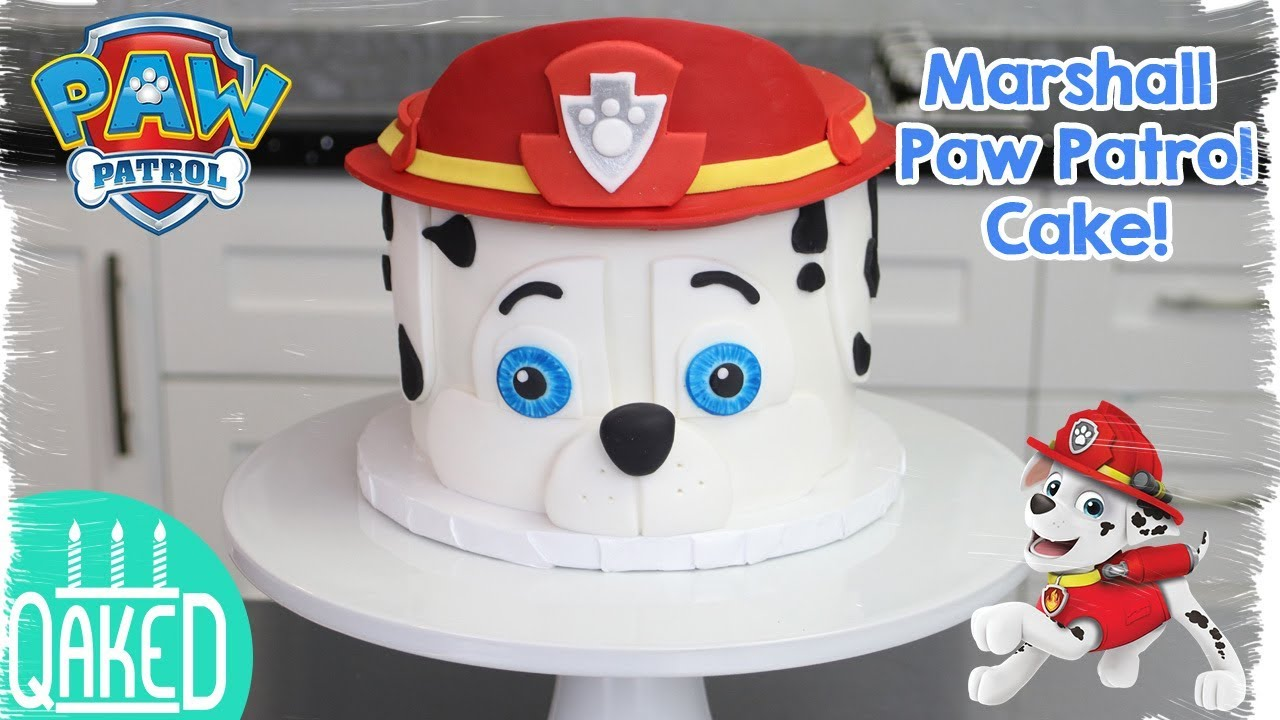 how to make a paw patrol cake how to make a marshall from paw patrol cake 4965