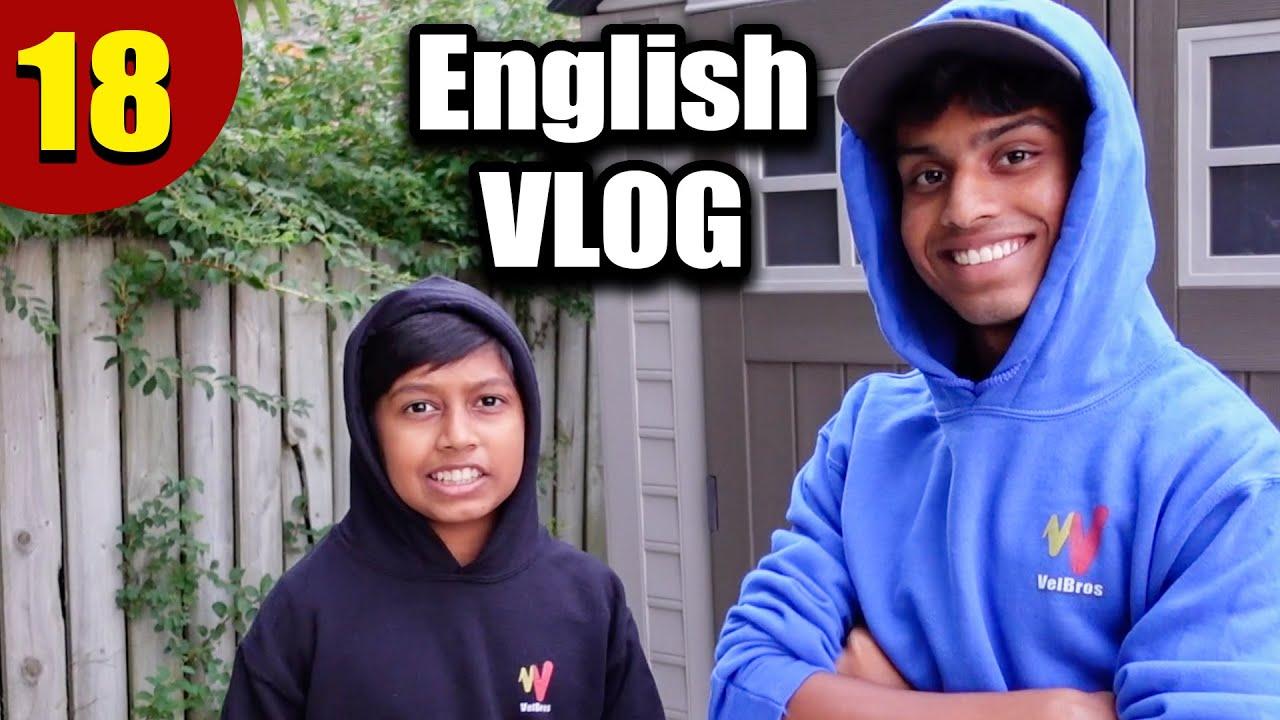 English VLOG | Spoken English in Tamil Episode 18 | VelBros