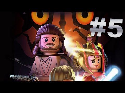 LEGO Star Wars #5 - LA RECONQUETE DU PALAIS DE THEED  (Episode I, Chapitre 5)