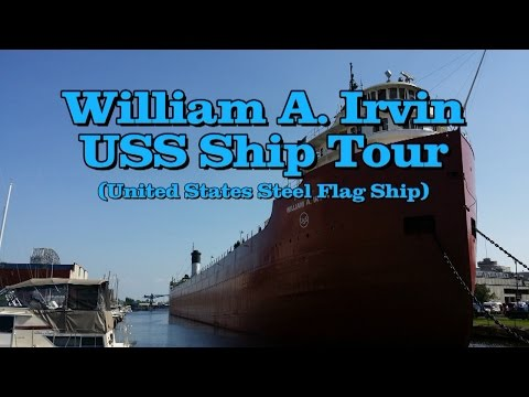 William A Irvin Tour July 2015 Duluth Minnesota