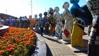 Астана Парк Самый Большой Парк Казахстана / Атырауский Мост.