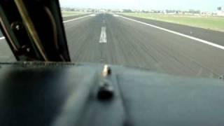 Boeing 737-300 Landung Florenz - Piyanist Pilot Musti