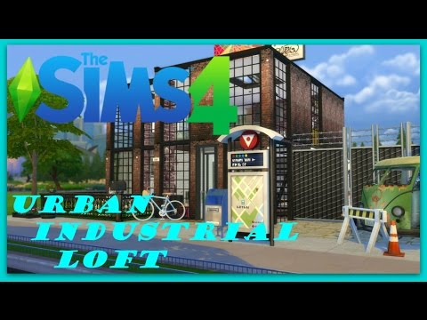The Sims 4 Urban Industrial Loft Tour House