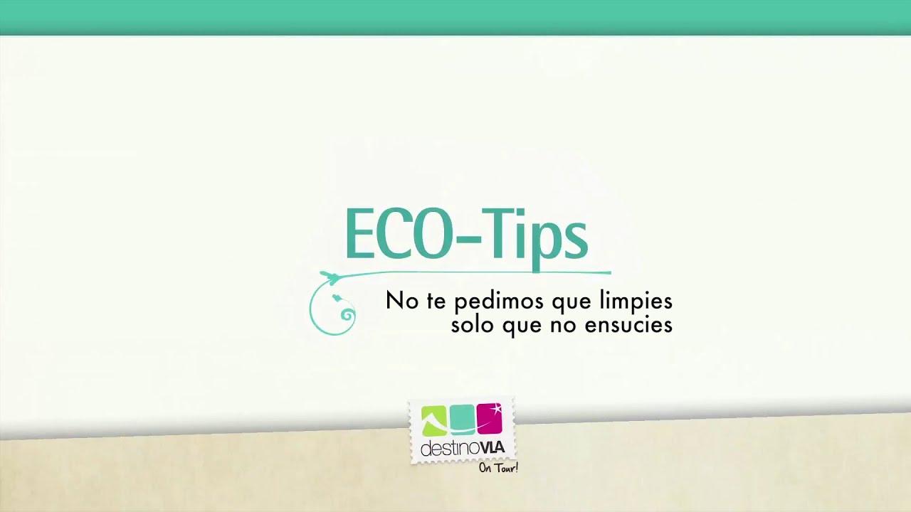 ECO TIP: siempre lleva una bolsa para tus residuos! te recomienda Destino VLA On tour!