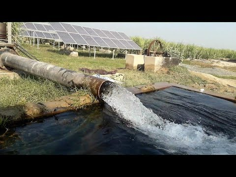 Solar Panel Tube Well | Solar Turbine in Pakistan Agricultur