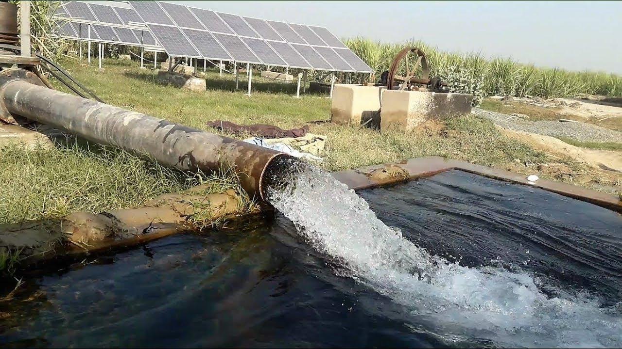 Solar Panel Cost >> Solar Panel Tube Well   Solar Turbine in Pakistan Agriculture - YouTube