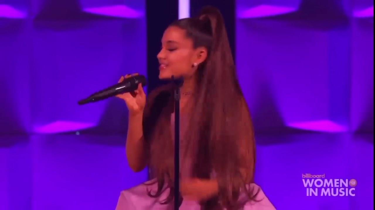 Ariana Grande - Thank U, Next Performance at Billboard (Woman of the year  2018)